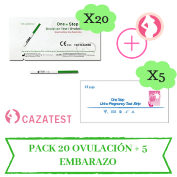 pack 20 + 5 test