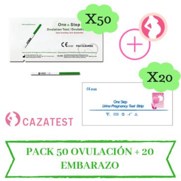 test pack 50 +20