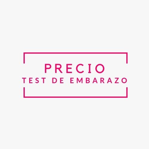 test de embarazo precio
