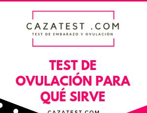 Test de ovulación para qué sirve