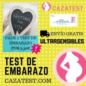 test de embarazo a domicilio