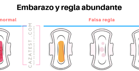 Embarazo y regla abundante