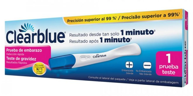 clearblue plus caja