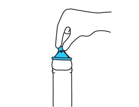 paso 1 embarazo condón